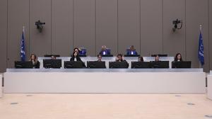 The International Criminal Court sitting in 2019