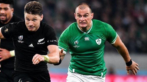 Ruddock hasn't played for Ireland since the World Cup quarter-final loss to New Zealand