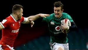 Billy Burns will win his fifth Ireland cap against France on Sunday