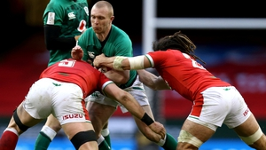 Keith Earls is on course for a 90th cap on Sunday