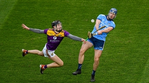 Ryan (R) in action against Wexford last year