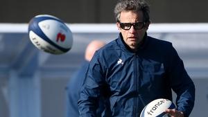 Head coach Fabien Galthie believe's Ireland's new-look half-backs will still offer a threat
