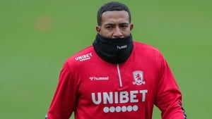 Nathaniel Mendez-Laing during Middlesbrough training