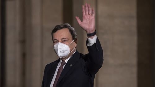 Mario Draghi spent the last nine days assembling the widest possible majority in parliament