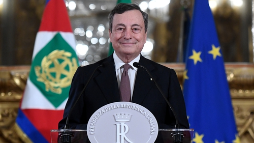 New Italian Prime Minister Mario Draghi has pledged to use 'all means' to fight the pandemic that has devastated the country