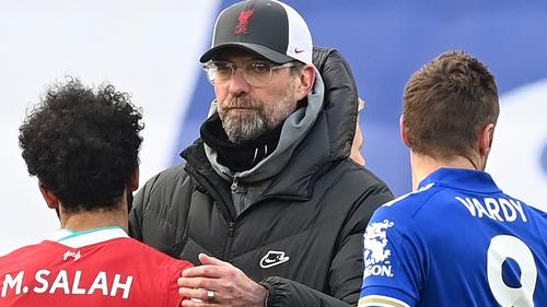 Jurgen Klopp's side suffered their third Premier League defeat in a row