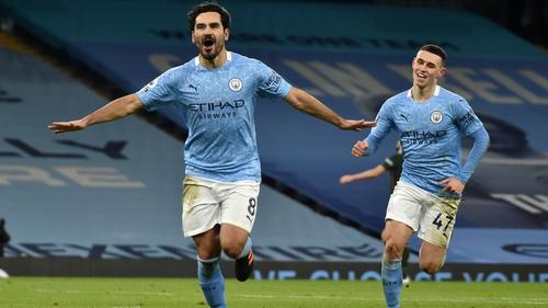 Ilkay Gundogan has scored three goals in City's Champions League campaign this season