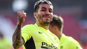 Angel Correa scored Atletico's winner against Granada