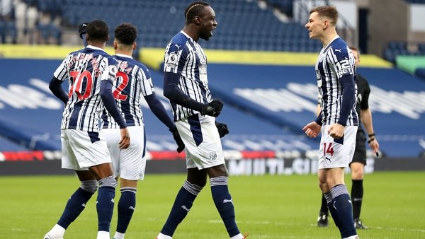 Mbaye Diagne celebrates his early opener