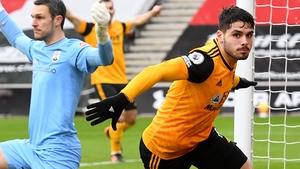 Pedro Neto scored Wolves' winner