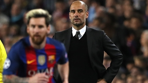Guardiola and Messi enjoyed much success at Barcelona.
