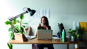 Top tips for creating a home office that can be easily achieved on a budget.