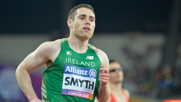 The Co Derry sprinter is taking the disruptions in his stride