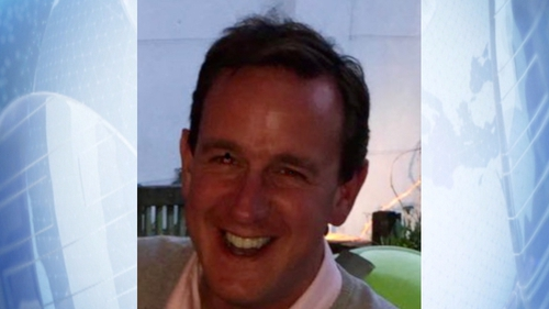 Richard O'Halloran has been detained in China since February 2019