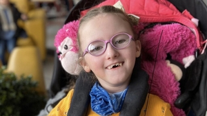 Skye Worthington has cerebral palsy, cannot speak and can only communicate through special eye gaze technology