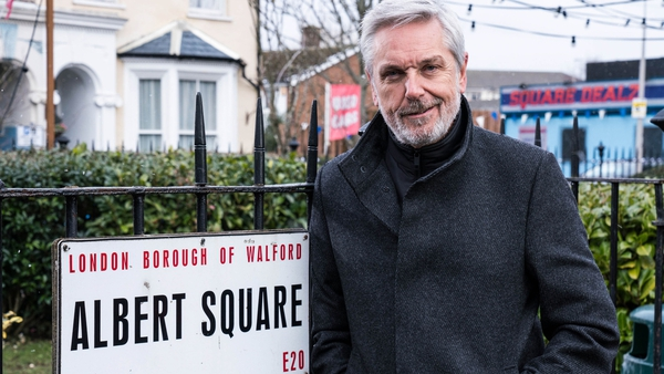 Brian Conley makes his Albert Square debut as Terry on Tuesday on RTÉ One and BBC One