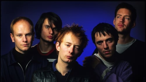 Phil Selway, Jonny Greenwood, Thom Yorke, Colin Greenwood and Ed O'Brien of Radiohead pictured in 1995