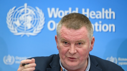 Michael Ryan said the WHO's focus was on keeping virus transmission low