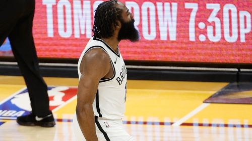 James Harden starred for the Nets