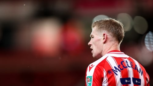 James McClean and his wife Erin have spoken of the threats made against their family