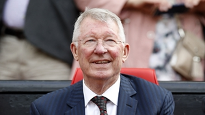 Alex Ferguson pictured in 2019