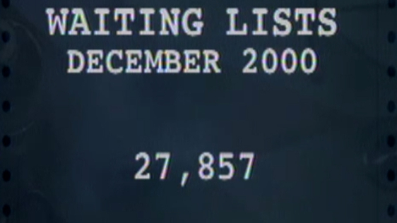 Hospital Waiting Lists, December 2000