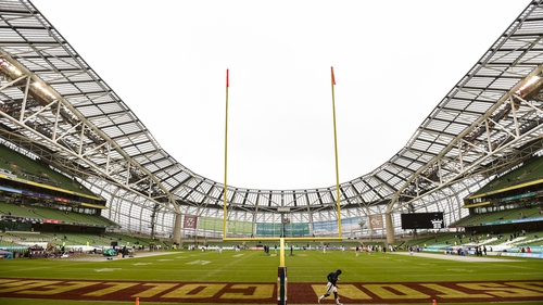 It's hoped the showpiece game will return to Dublin in 2022