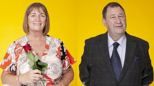 Gabrielle and John from Dublin: could love be lovelier the second time around for this old-school lady and gent?