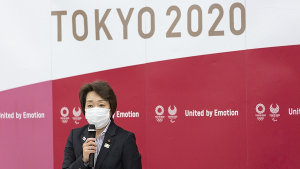 Tokyo 2020 organising committee president Seiko Hashimoto