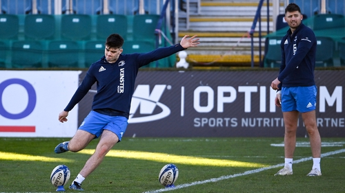 Harry (L) and Ross Byrne will start against the Dragons