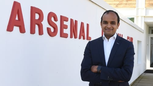 Vinai Venkatesham has been Arsenal's chief executive since 2018