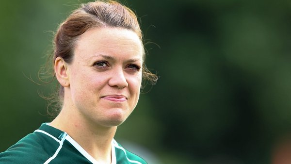 Lynne Cantwell earned 87 caps for Ireland between 2001 and 2014