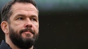 Andy Farrell's team face Italy on Saturday week