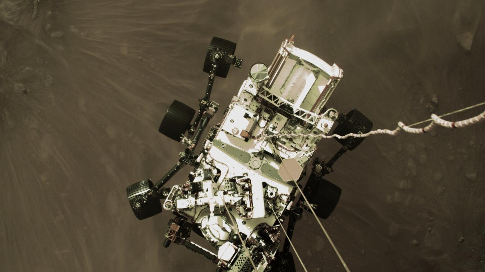 NASA Perseverance Mars Rover mengirimkan gambar be