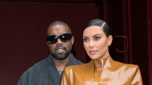 Kanye West and Kim Kardashian in happier times