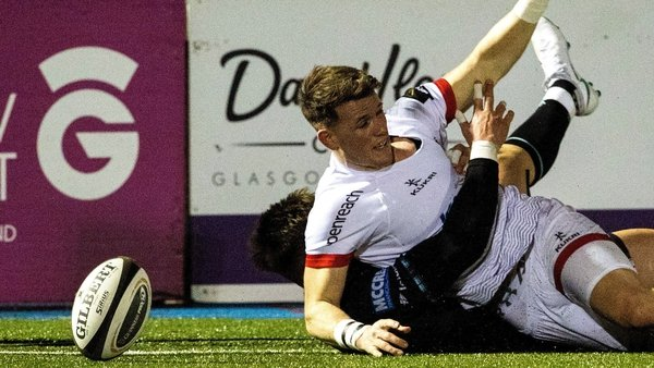 Craig Gilroy got Ulster's second try