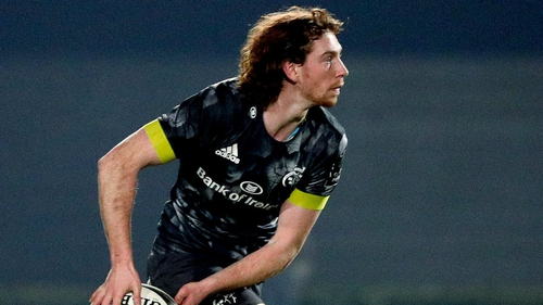 Ben Healy has played 12 times for Munster this season