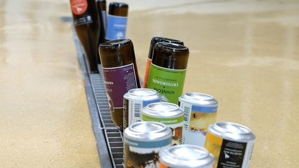 Kinnegar now produces 800,000 litres of beer a year and exports across Europe