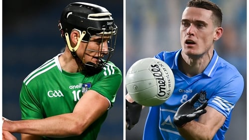 Gearoid Hegarty (L) and Brian Fenton took the honours