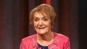 Philomena Begley on last night's Tommy Tiernan Show on RTÉ One