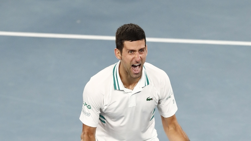Novak Djokovic won his 18th Grand Slam at the weekend in Melbourne