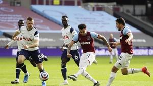 Jesse Lingard scored West Ham's second