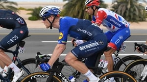 Sam Bennett during day one in the UAE
