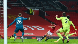 Daniel James fires home United's second