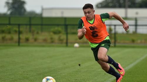 Adam O'Reilly represented Ireland at both U17 and U19 level