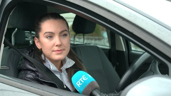 Sarah Murphy is unable to complete her essential driving lessons due to Covid-19 restrictions