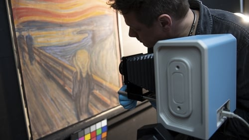 Infrared technology assisted experts in analysing the handwriting (Pics: Annar Bjorgli, Borre Hostland/National Museum of Norway)