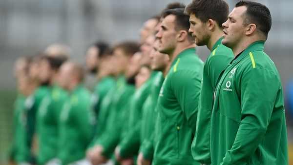 There have been no positive cases among the Irish squad