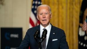 Joe Biden's letter will be read to the Annual Gala of Glucksman Ireland House
