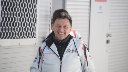 Fausto Gresini was a double world champion in the 125cc class in the 1980s